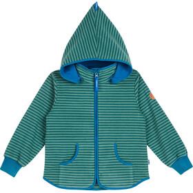 Finkid Tonttu Striped Chaqueta Polar Niños, trellis/seaport